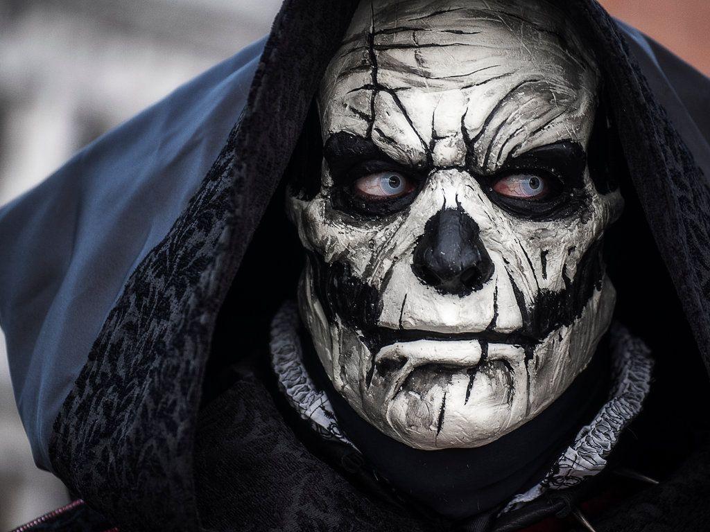 Voodoo Skull mask by SatanaelArt on DeviantArt   mascaras y cascos ...