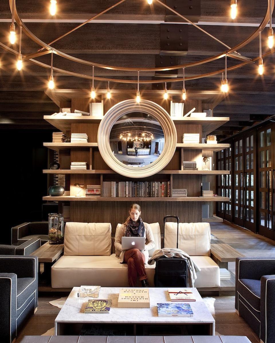 Industrial Design Hotel Lobby