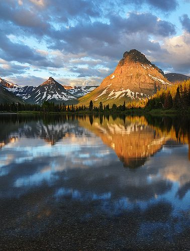 Morning with the Mountains, Glacier National Park (pinned by haw-creek.com)