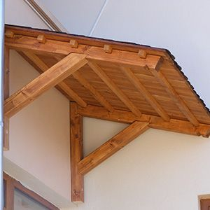 Copertina Usa Intrare Din Lemn Interior Decorating Pergola Firewood Storage