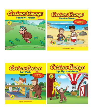 Another great find on #zulily! Curious George: Summer Paperback Set by Curious George #zulilyfinds