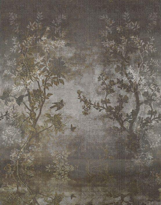 Wallpaper with floral pattern midsummer night by wall dec for Carta da parati ikea 2015 catalogo