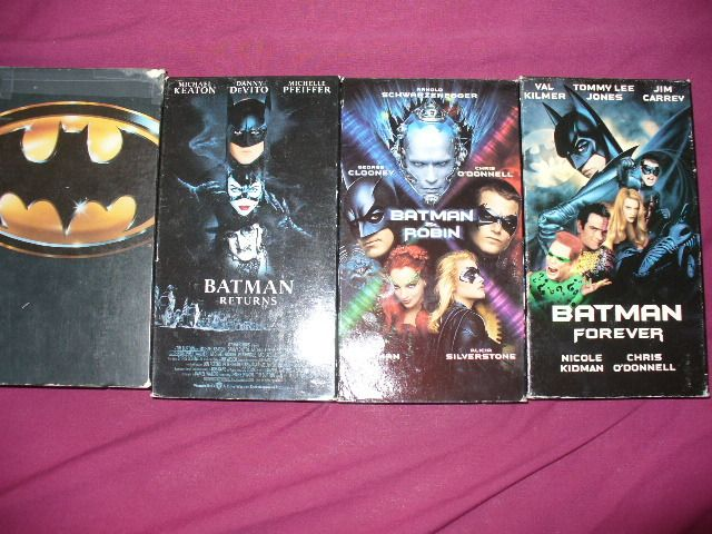 I own all of these n the new ones batman begins ..