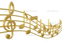 musical notes images silver gold - Google Search