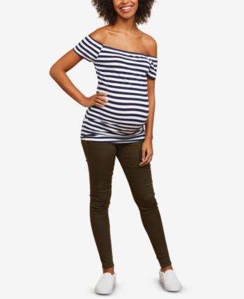 f3ad8c4d50 Motherhood Maternity Skinny Pants - Green XS in 2019