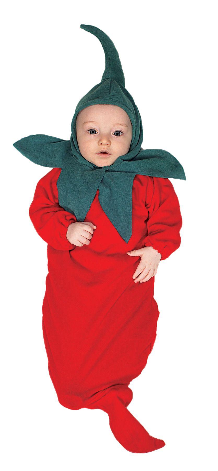 0d3aee4c7 Chili Pepper Bunting Newborn Baby Cute Costume