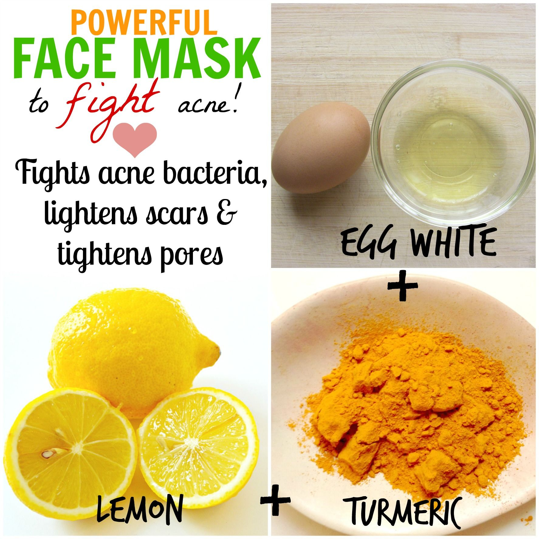 diy natural homemade face masks for acne cure | diy i'll never do