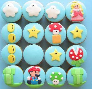 Mario Cupcakes? Genius!