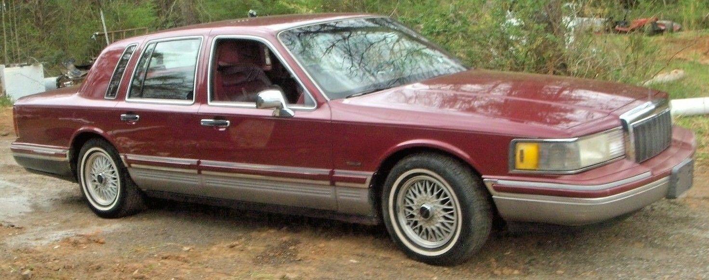 1991 Lincoln Town Car Executive Series 2 Signature Series Lincoln