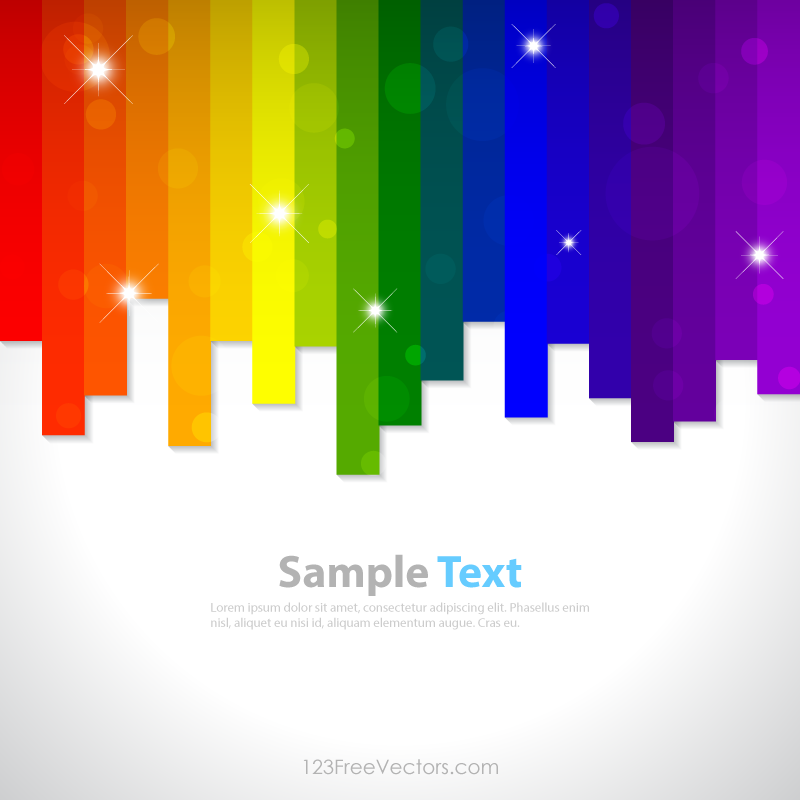 Rainbow Background Clip Art Rainbow Background Clip