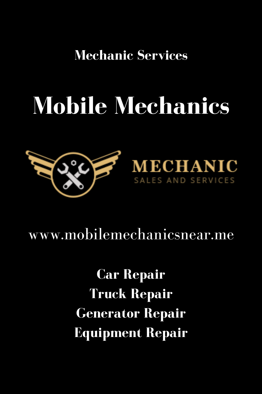 Mobile mechanics near me in 2020 Mobile mechanic
