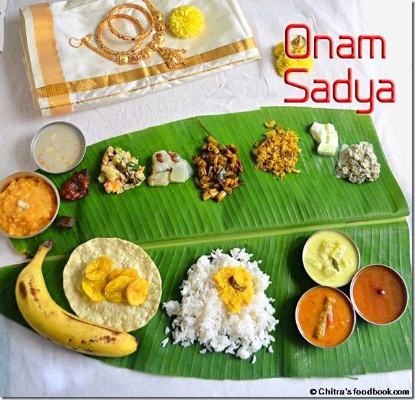 Chitra's Food Book: ONAM SADYA RECIPES