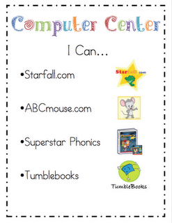 printable center signs and more!