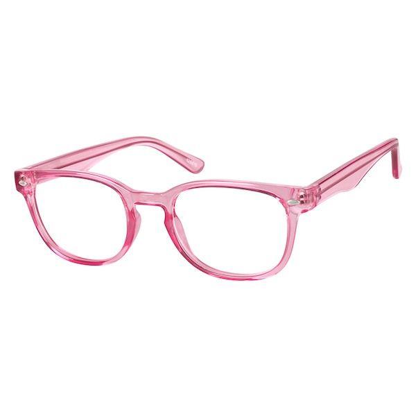 9c090051aea Zenni Womens Square Prescription Eyeglasses Pink Tortoiseshell Other  Plastic 125619