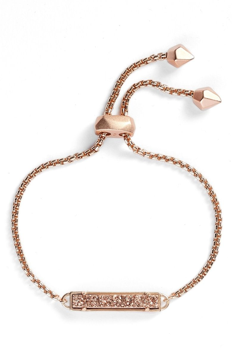 Stan bracelet main color rose gold drusy stitch fix window