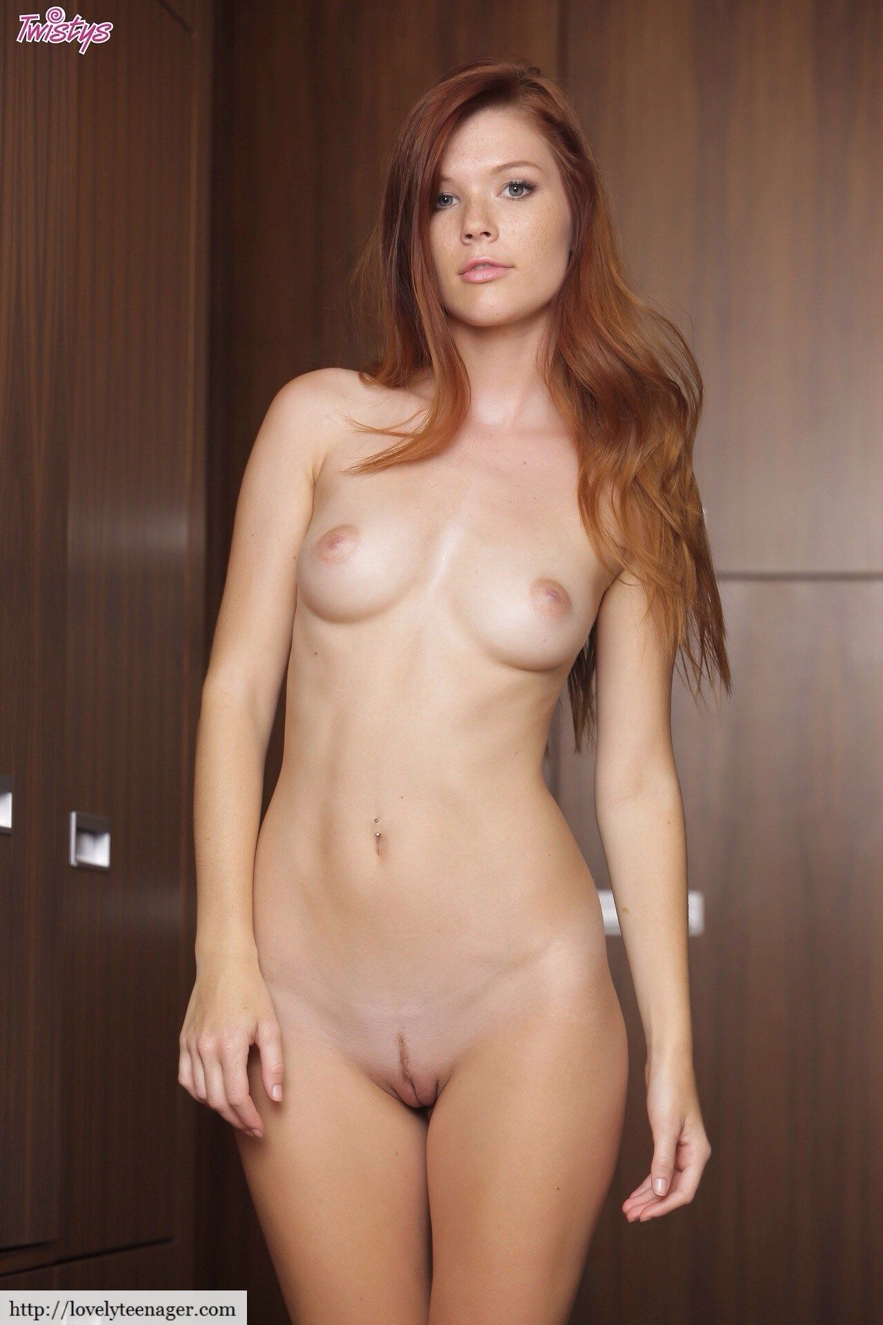 Great bouncing Young redhead bandaged sweet pink cunt