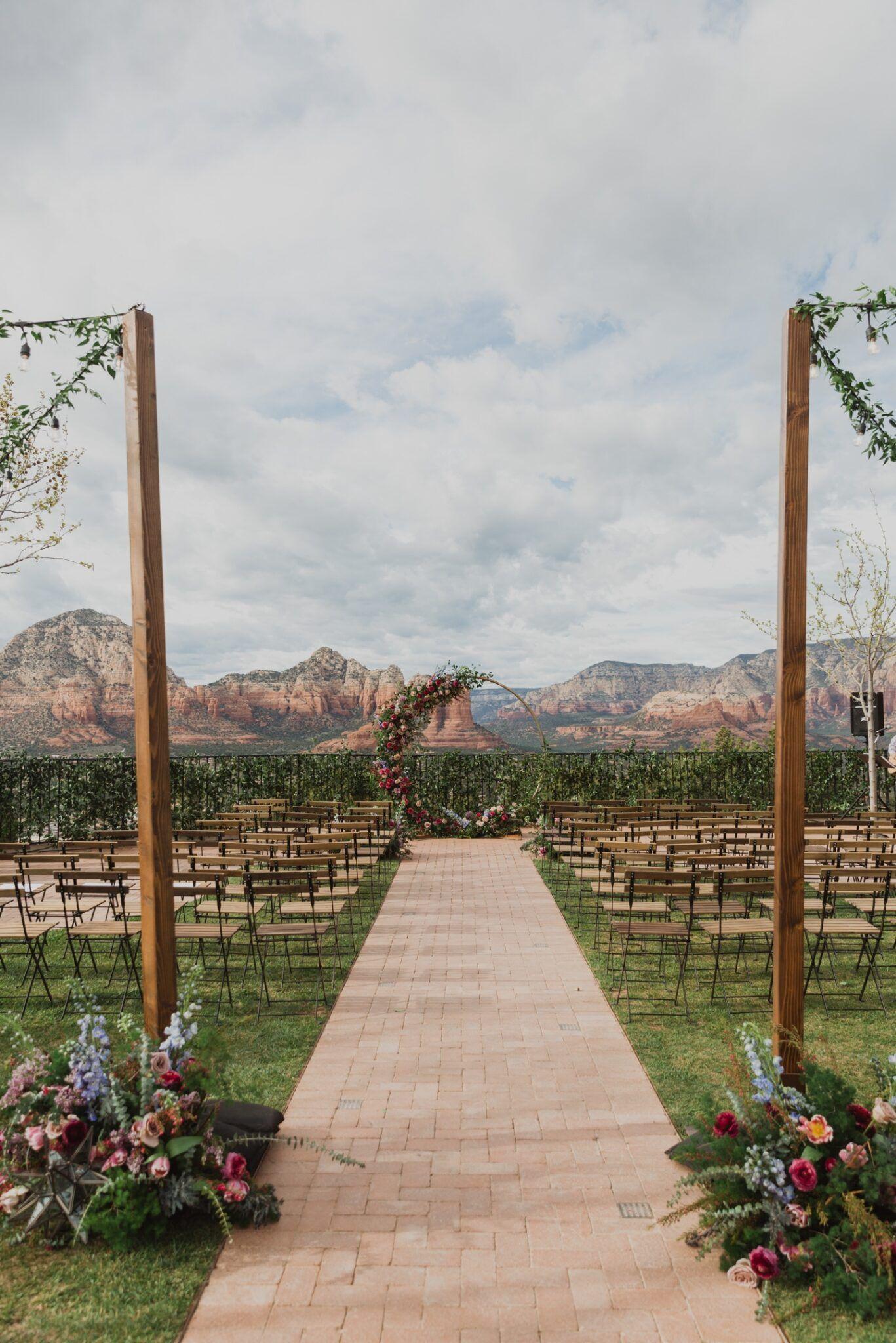 Bohemian Sedona Wedding Planner Photography At Sky Ranch Lodge Jane In The Woods In 2020 Arizona Wedding Venues Intimate Wedding Photography Destination Wedding