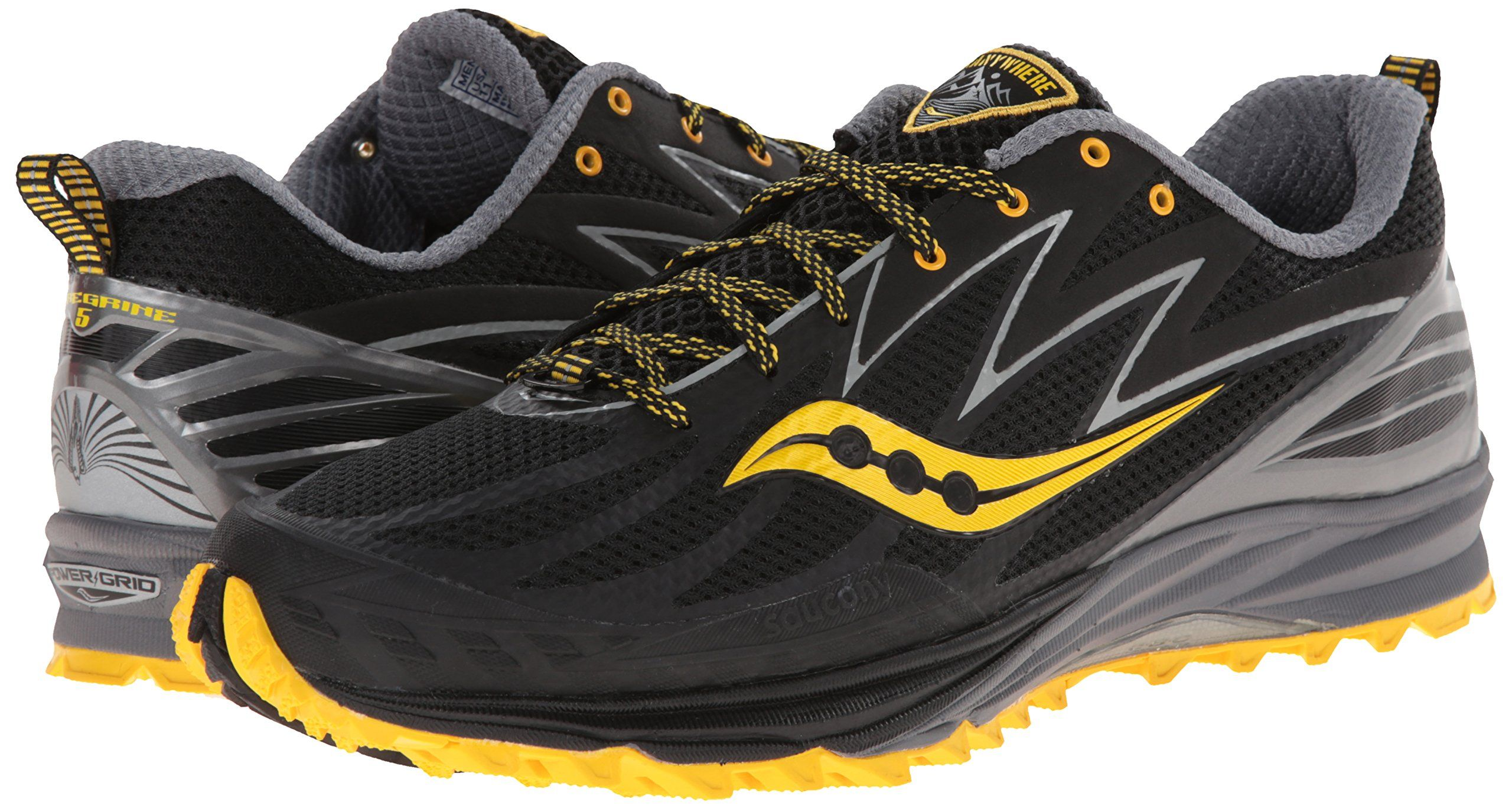 Amazon.com  Saucony Men s Peregrine 5 Trail Running Shoe  Shoes ... 47640f5a168