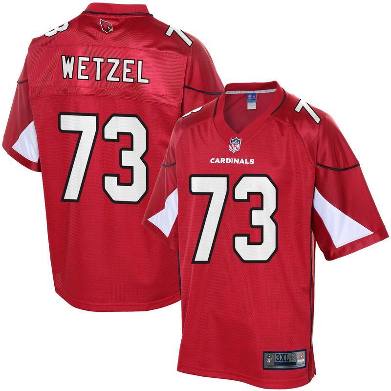 24fc15939 John Wetzel Arizona Cardinals NFL Pro Line Player Jersey - Cardinal ...