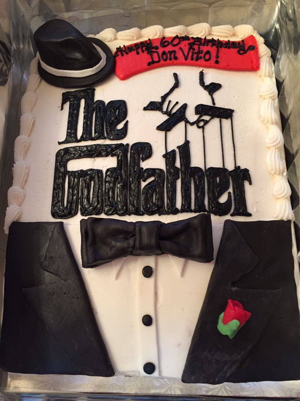 Godfather Birthday Cake Cakes For Men Amazing Cakes