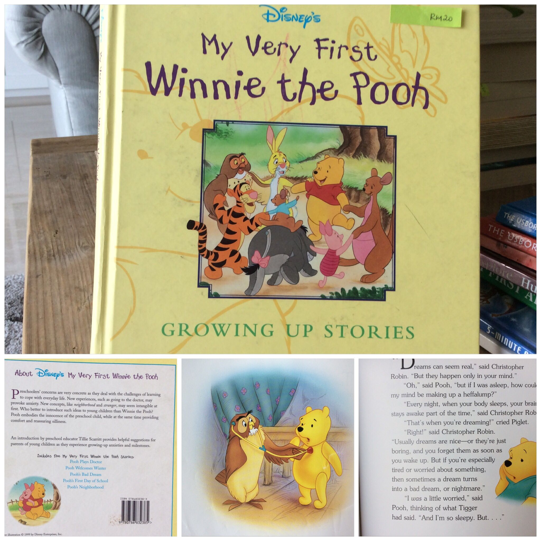 My Very First Winnie The Pooh Growing Up Stories For