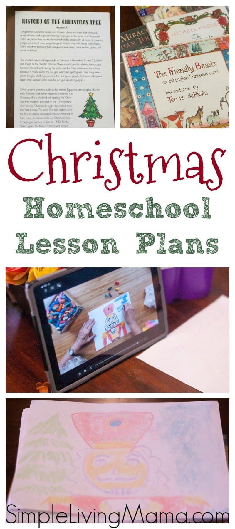 Photo of Christmas Homeschool Lesson Plans – Simple Living Mama