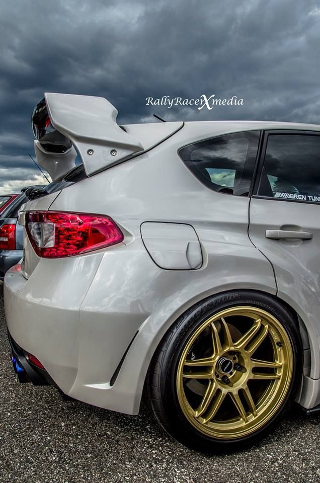 subaru sti with those classic colored rims ! @guthrie dolin dolin dolin  dolin…