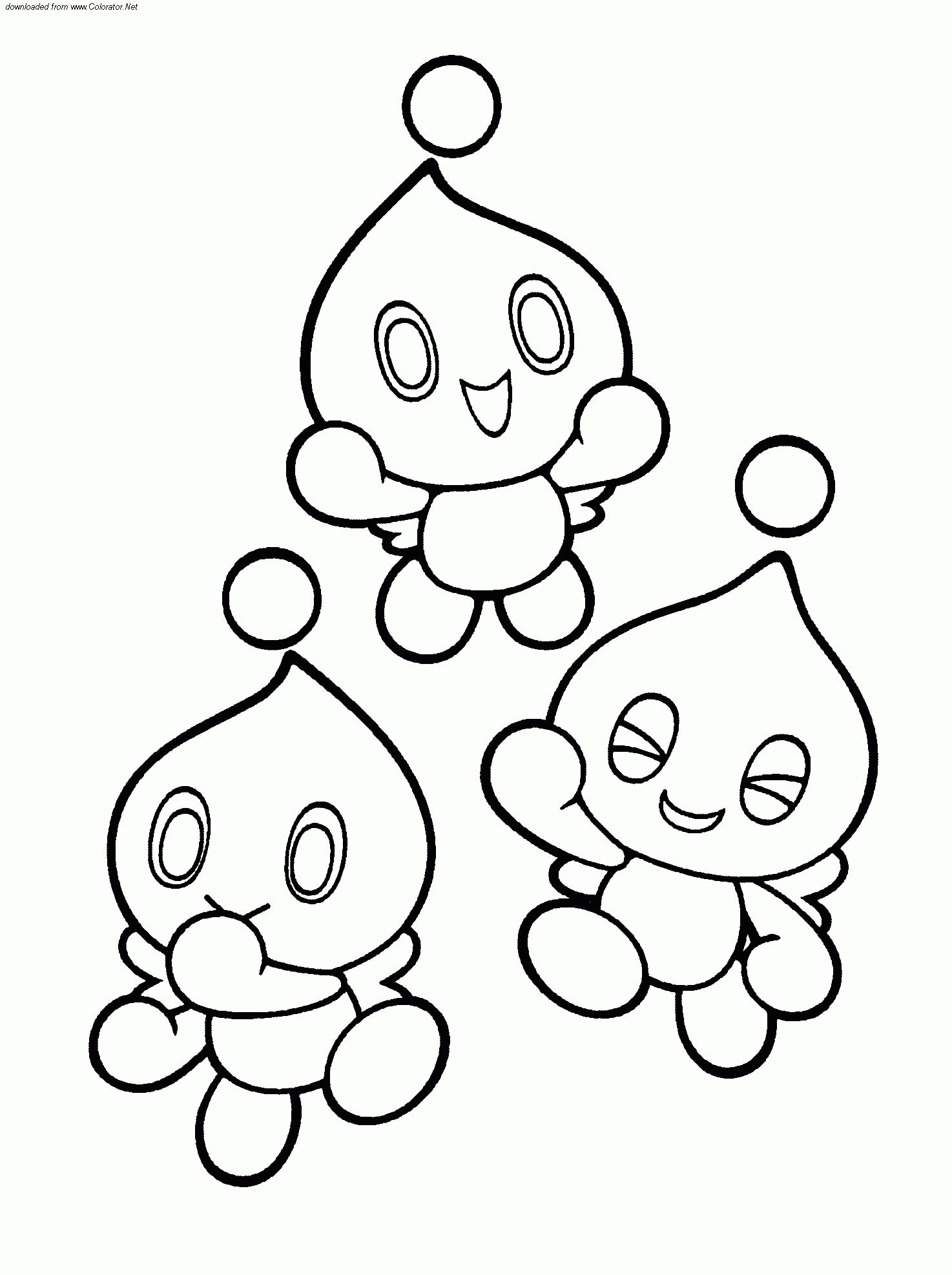 Sonic Chaos Coloring Pages Sonic Chaos Coloring Pages Sonic Chaos Emeralds Coloring Pages Sonic The Coloring Pages Coloring Pages For Kids Coloring For Kids