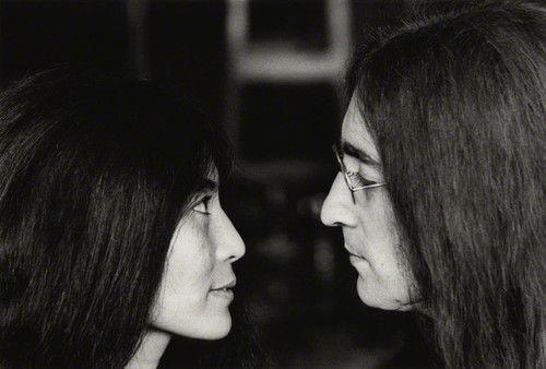 Yoko Ono & John Lennon, November, 1969  Tom Blau