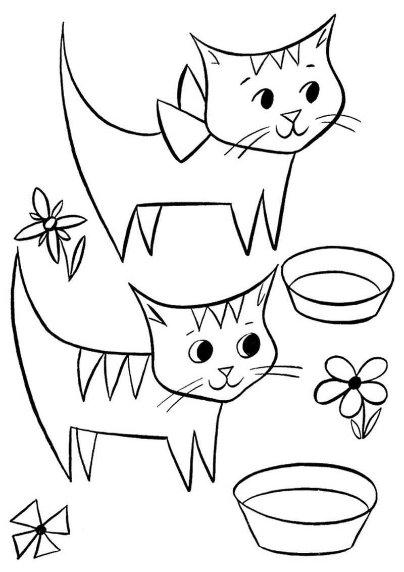 13+ Cute christmas kitten coloring pages info