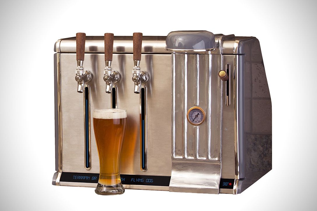 Growler Chill S Countertop Device Lets You Drink 3 Different Beers
