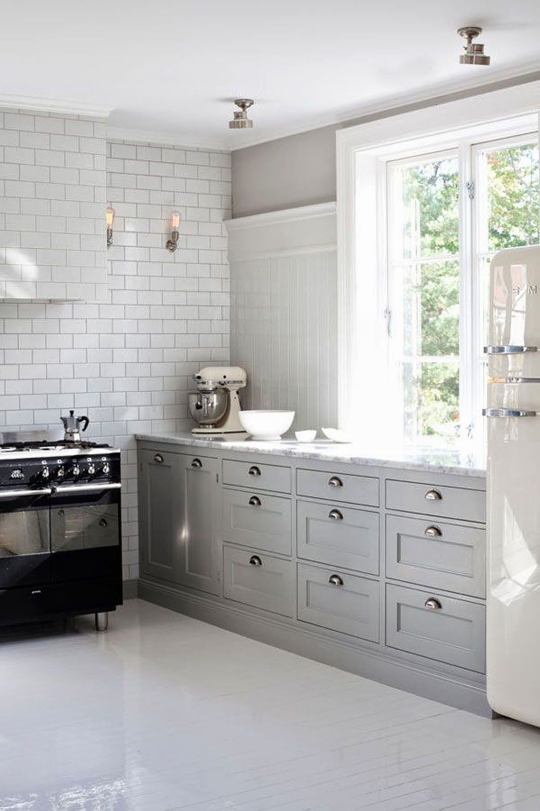 Kitchen design inspiration for Hummingbird High's kitchen remodel.