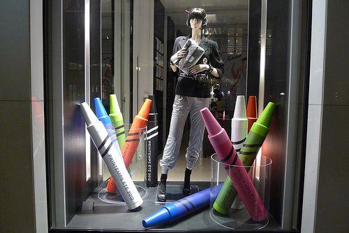 Vitrines Chanel - Paris, mars 2012