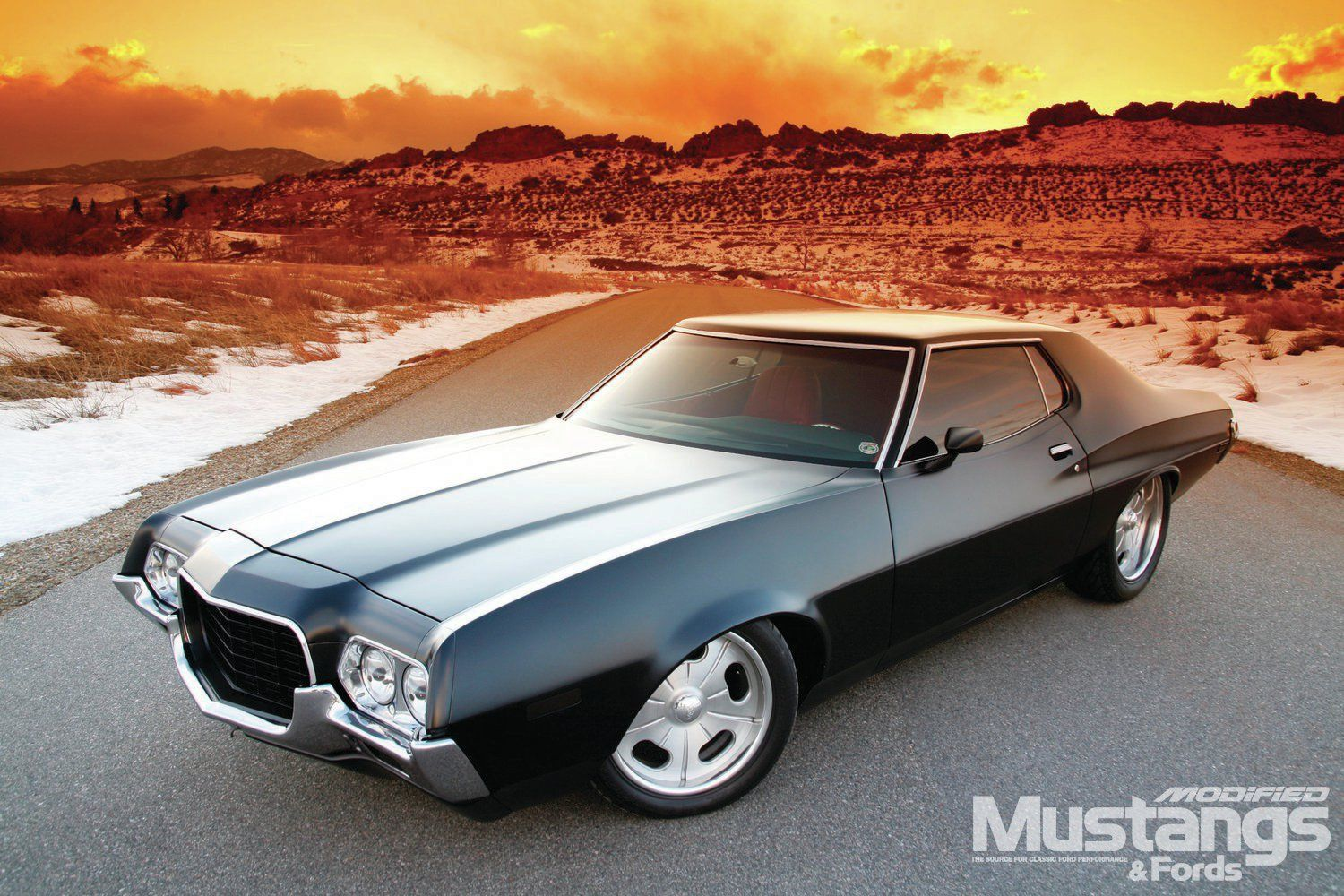1972 Ford Gran Torino His Chariot In 2020 Ford Torino