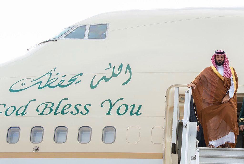 صور من وصول سمو ولي العهد إلى الأرجنتين لرئاسة وفد المملكة المشارك في قمة قادة دول مجموعة العشرين في العاصمة بيونس آيرس Arabia Saudita