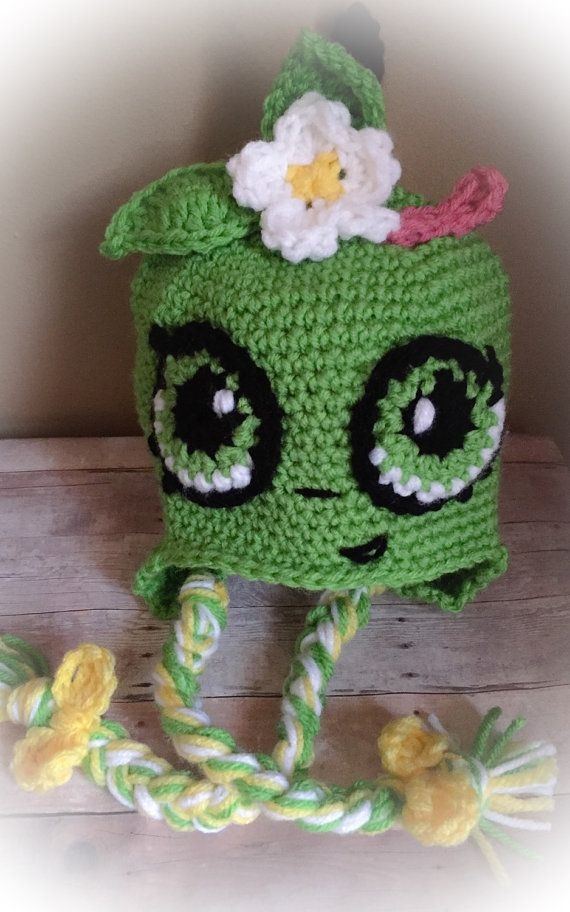 Crochet Apple blossom hat-toddler-child size by Sofiascreation12 ...