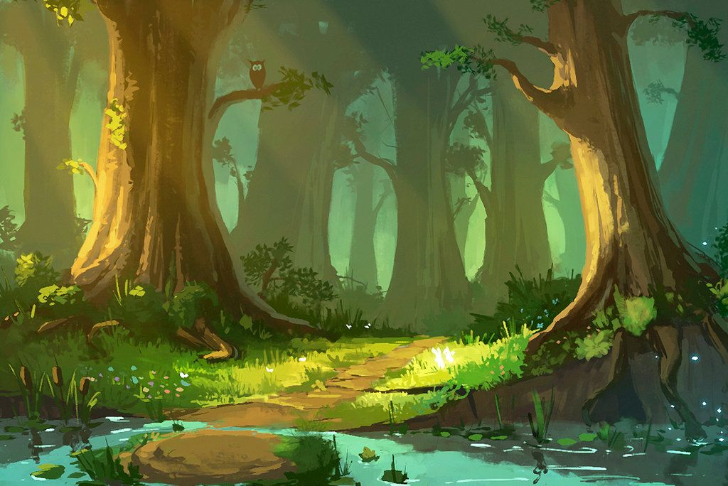 Dailyart4 Anime Scenery Landscape Art Environment Concept Art