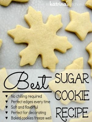 Recipes for basic cookies