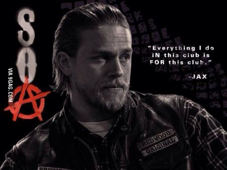 Who Thinks This Show Is The Bomb Jax Sons Of Anarchy Sons Of Anarchy Anarchy