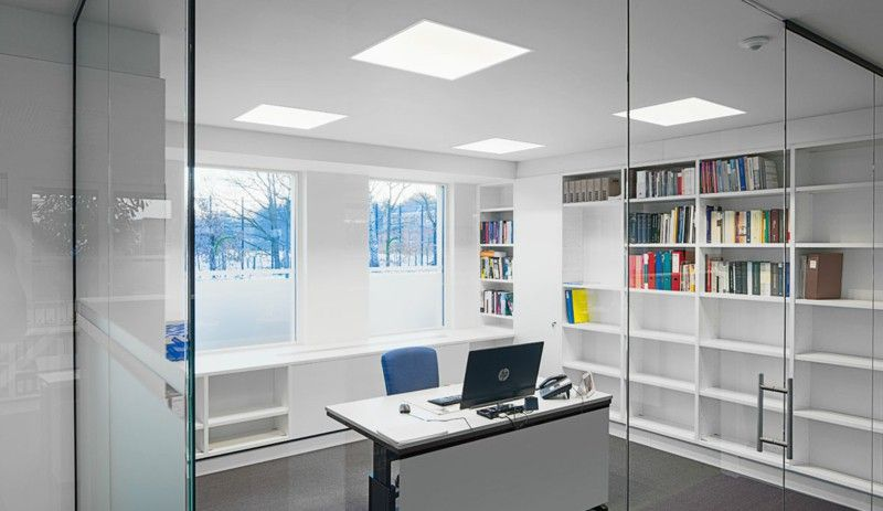 office desk lighting. Optimal Lighting In The Workplace: Desk Lamps And Office Lights U