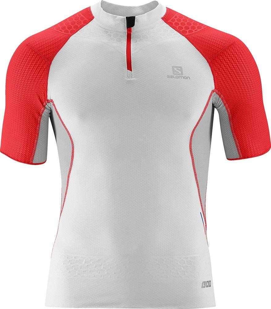 SLAB EXO ZIP TEE M Tees Clothing Trail Running