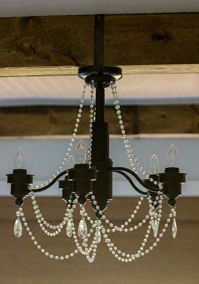 Master Makeover A Diy Chandelier Transformation Chandelier Makeover Diy Chandelier Stained Glass Chandelier
