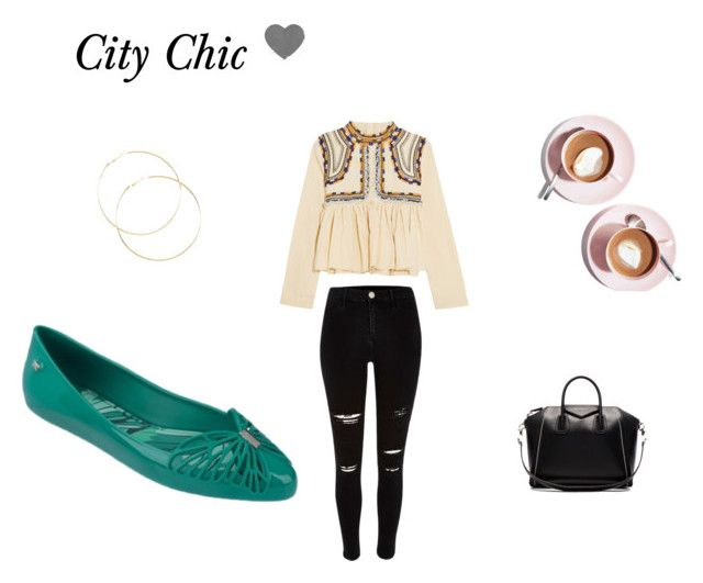 """""""Prep for the long weekend? City Chic ~"""" by zaxyshoes-co-uk ❤ liked on Polyvore featuring Isabel Marant, River Island and Givenchy"""