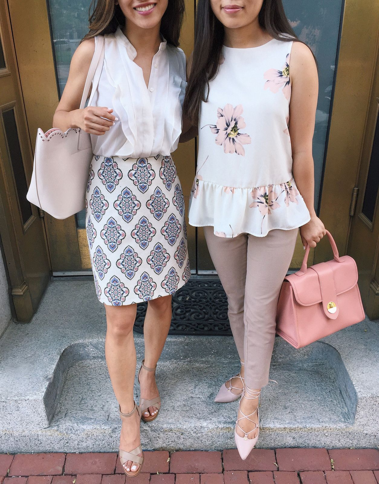 What to wear to work in the summer // business casual ...