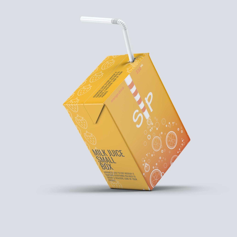 Download Juice Box Psd Mockup Download For Free Juice Box Psd Mockup Juice Boxes Juice Creative Packaging Design