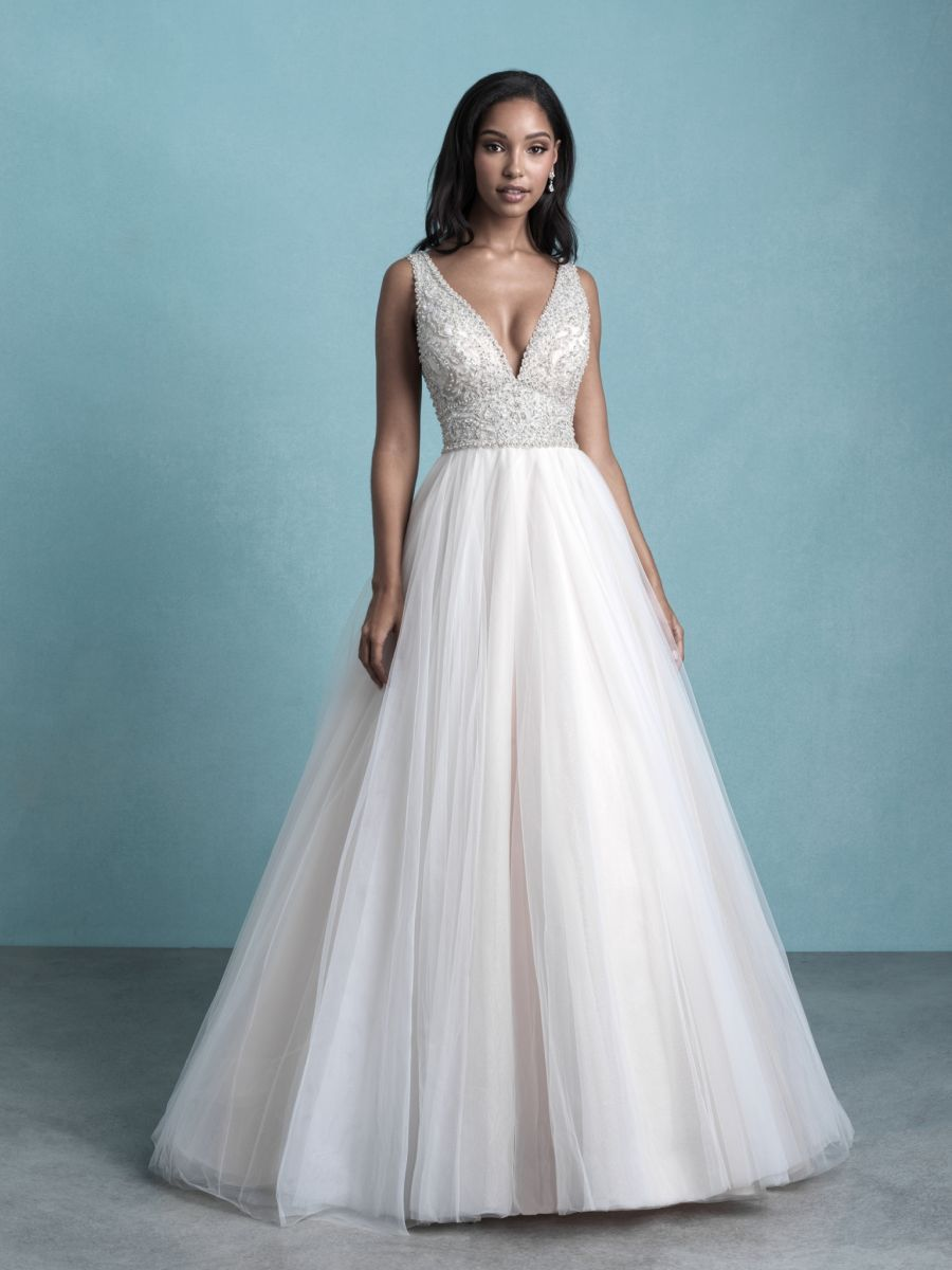 Style 9764 Allure Bridals In 2020 Ball Gown Wedding Dress Ball Gowns Wedding Allure Bridal