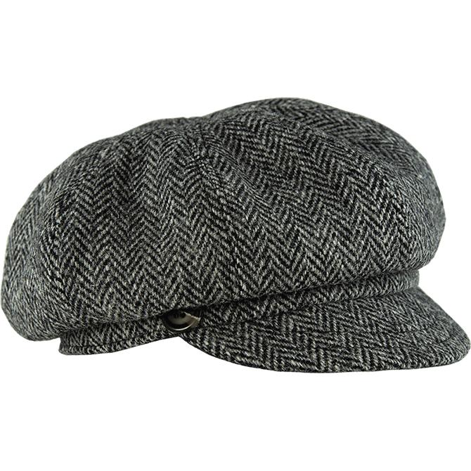 The Gatsby Cap In Harris Tweed News Boy Hat Gatsby Hat Harris Tweed