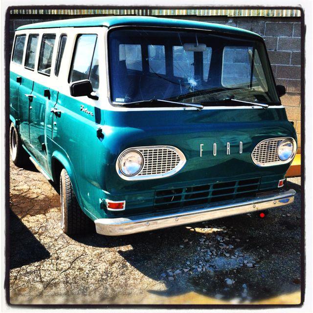 My 63 Ford Falcon Van Ford Van Cool Vans Vintage Vans