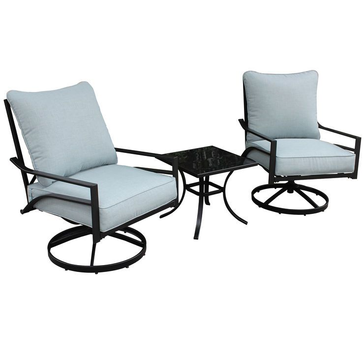 Strange Brandywine 3 Piece Chat Set In 2019 Patio Furniture For Andrewgaddart Wooden Chair Designs For Living Room Andrewgaddartcom