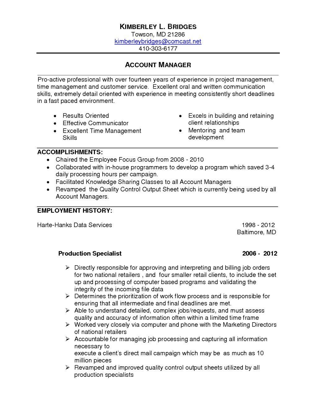 Project Manager Resume Summary Beautiful Resume Summary Examples